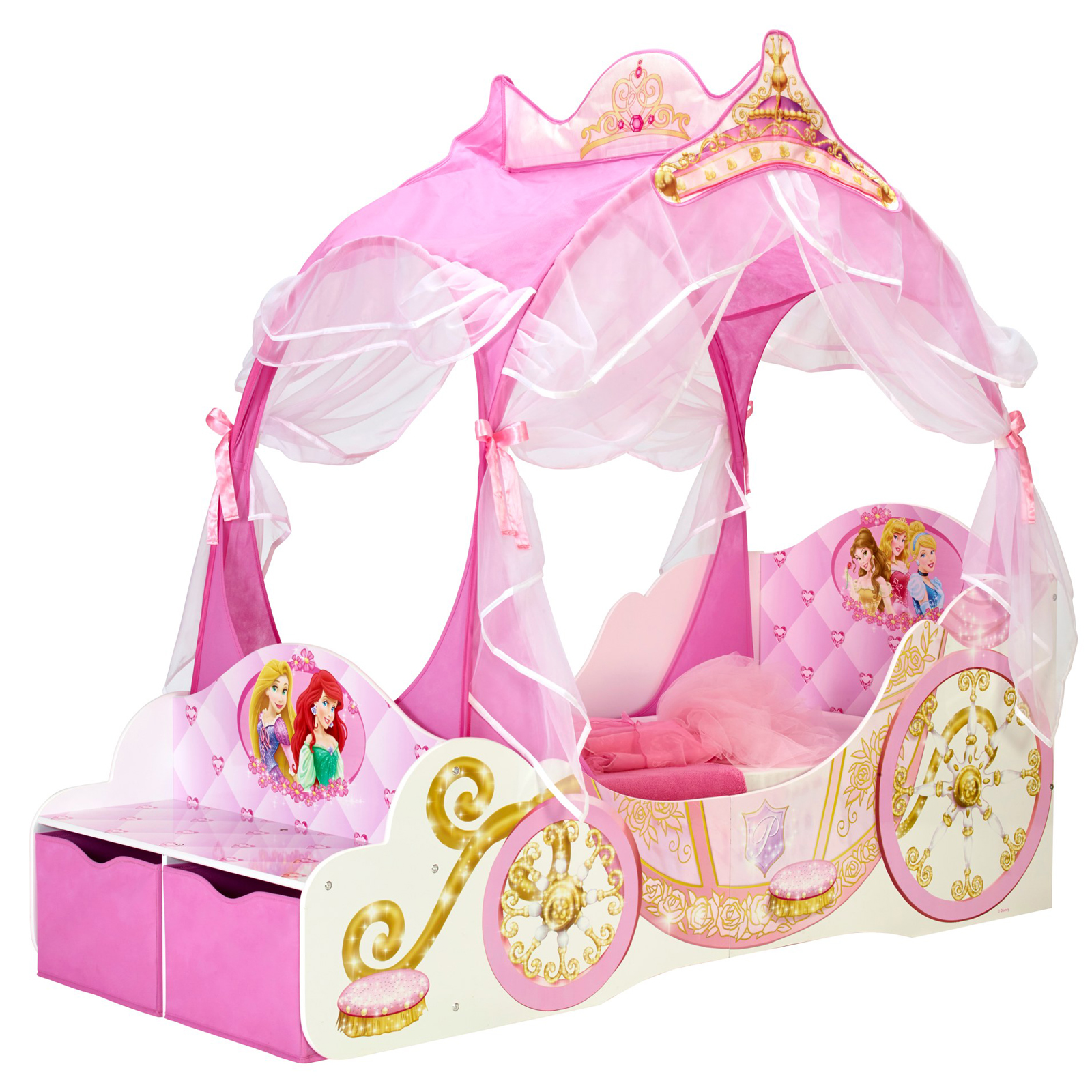 Disney Princess Bedroom Furniture Disney Princess Carriage Toddler Bed Yes Furniture Online