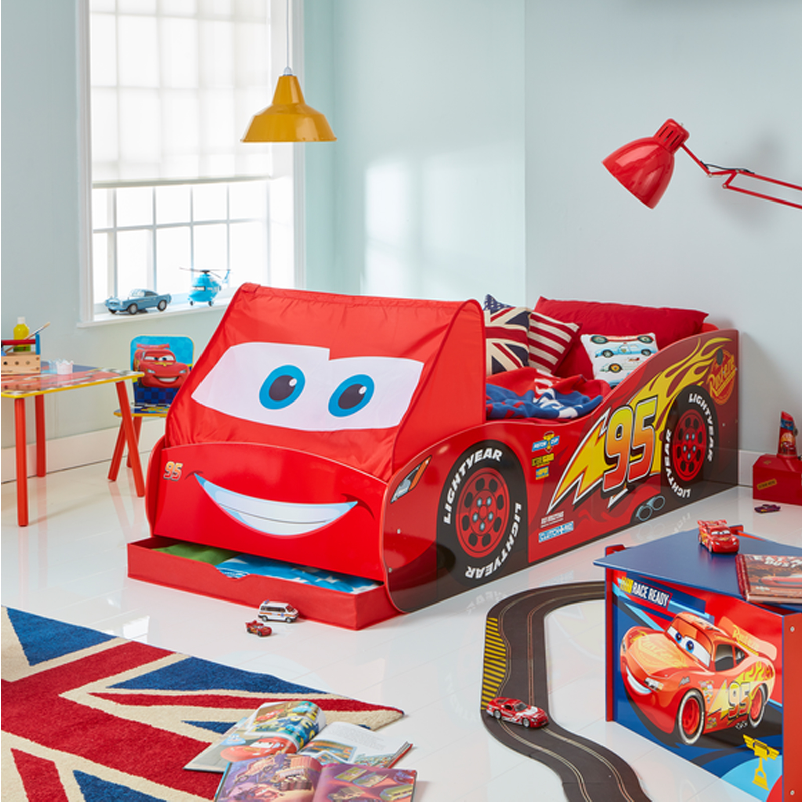 Lightning McQueen Single Bed - Yes Furniture Online