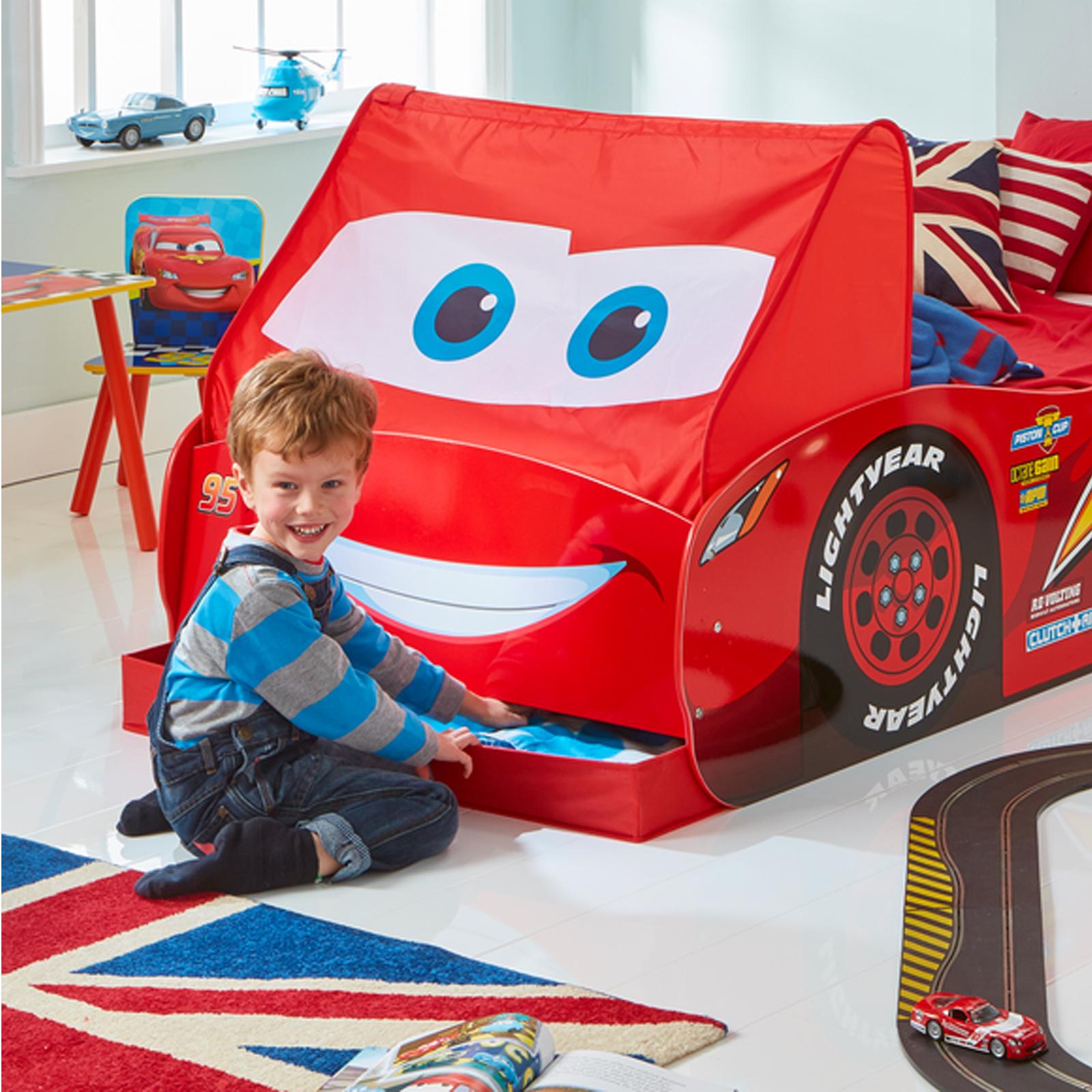 Lightning McQueen Single Size Bed